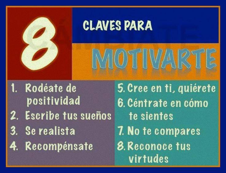 8 claves para motivarte